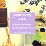 essential oil, aromatherapy and OT
