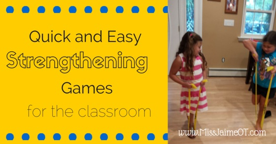 Resistance band, Handee band, strengthening games