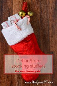 dollar store fidgets, dollar store sensory