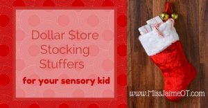 Dollar store, stocking stuffers, sensory, fidgets