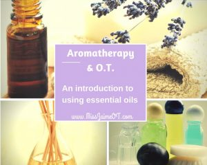 aromatherapy and OT