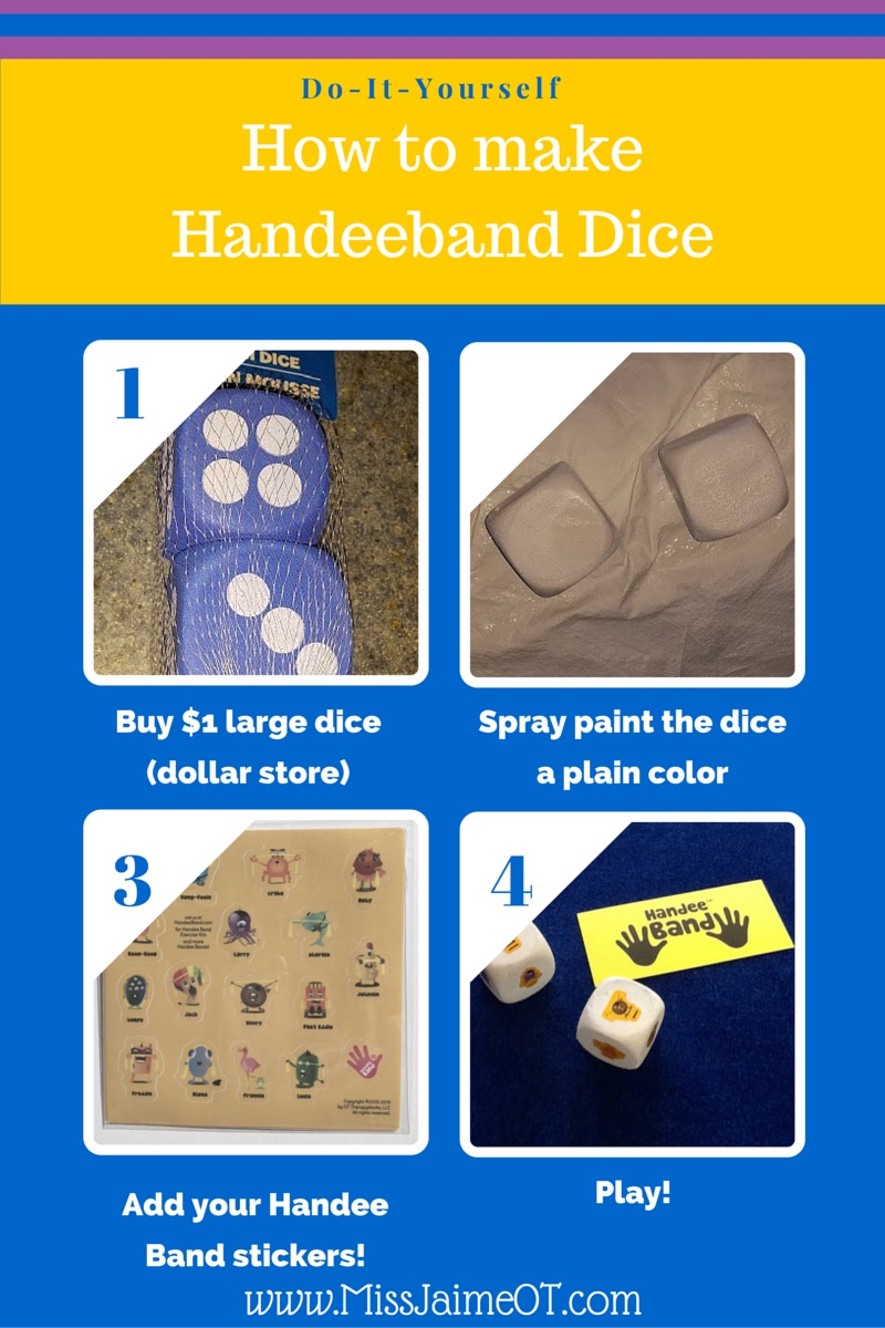 Handee band dice game