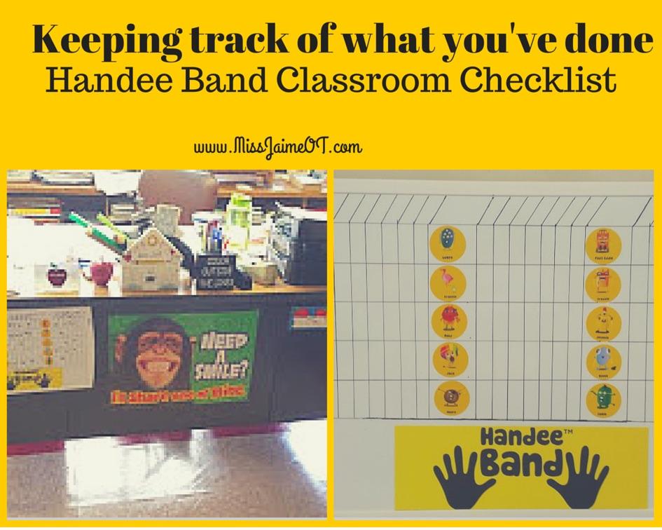 Handeeband checkoff, OT homework