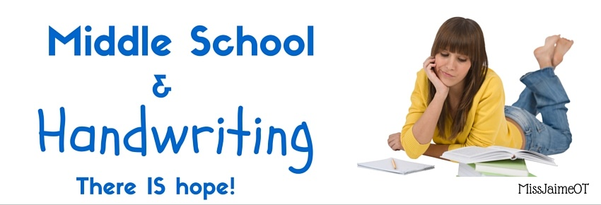 How To Improve Handwriting In Middle School Part 1