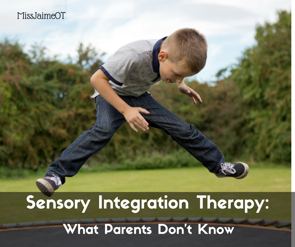 Ayres Sensory Integration Therapy What Parents Dont Know
