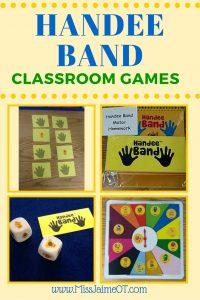 Handee band classroom games