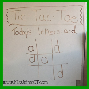 tic tac toe handwriting #functionalskillsforkids, Handwriting and Play