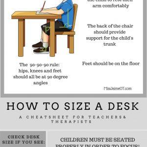 desk size
