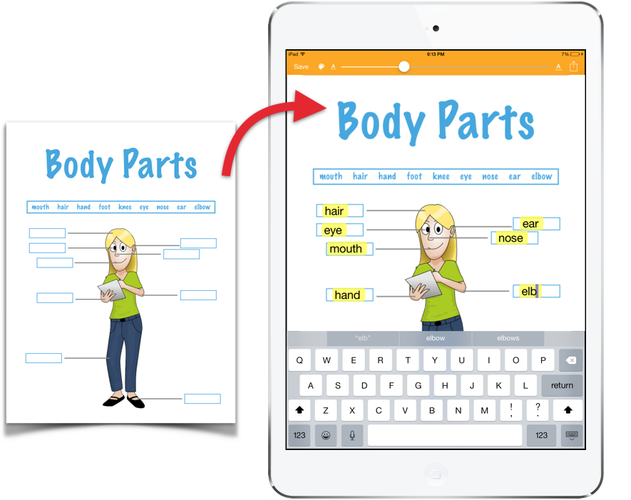 SnapType-Paper-To-iPad