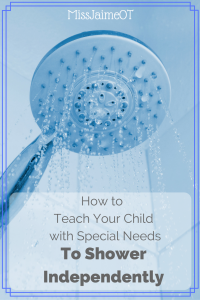 Special Needs Showering