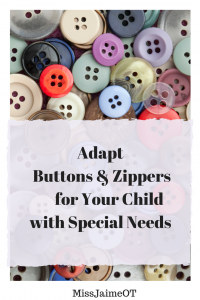 adapt buttons and zippers