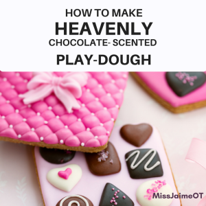 chocolate scented play doh