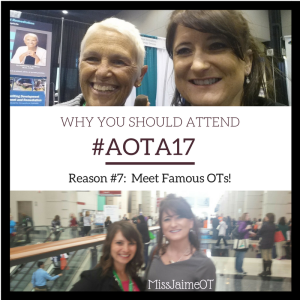 Occupational Therapy, AOTA, MissJaimeOT