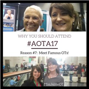 #AOTA17