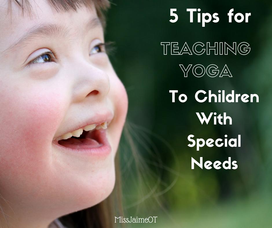 Enjoyable Teaching Yoga To Children With Special Needs 5 Tips To Make Creativecarmelina Interior Chair Design Creativecarmelinacom