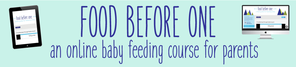 baby feeding, baby food course, food before one, online baby feeding course