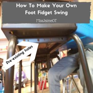 PVC Foot Swing, PVC Foot Fidget, Classroom Fidgets