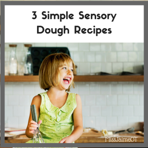 sensory recipes, spd