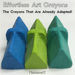 effortless art crayons