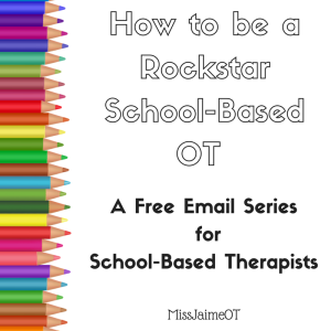 School based OT, pediatric OT, OT