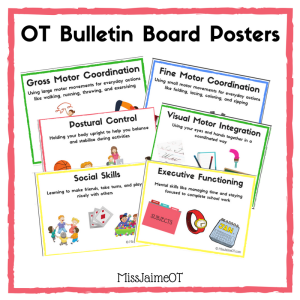 OT bulletin board, OT posters