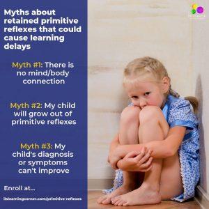 myths, ot, primitive reflexes, retained reflexes, infant reflexes