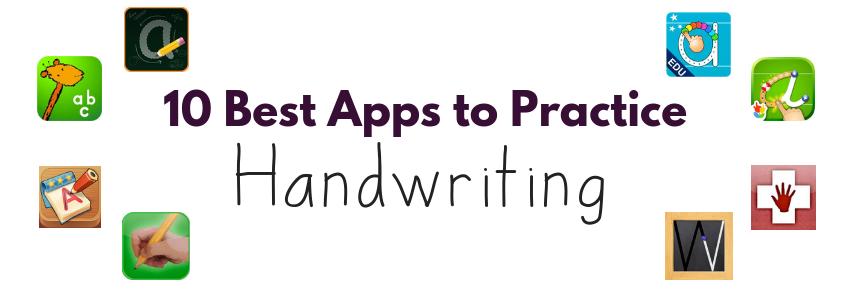 Ten Best Apps For Handwriting With Kids 10 Best Handwriting Apps For Kids