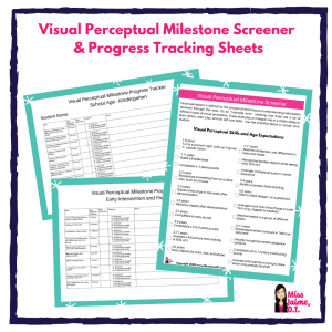visual perceptual milestone screener