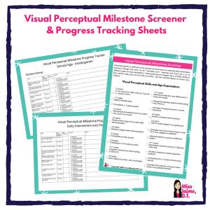 visual perceptual milestone screener
