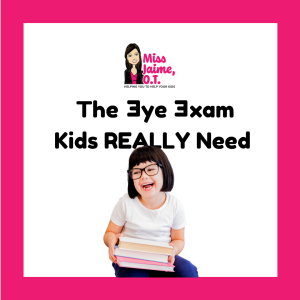 vision, children, glasses, kids glasses, kids vision, eye exams, ADHD, vision issues, vision problems, convergence